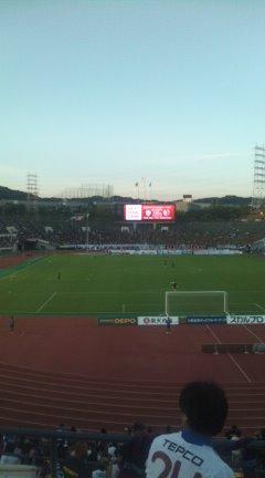 行ってきました 神戸vsFC東京 8月28日(土)